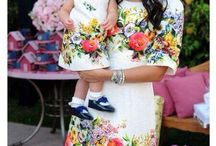 Mother and daugther outfits
