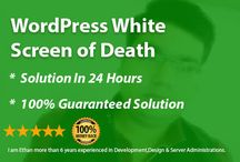 Fiverr / i will fix your WordPress website's  problems .  WordPress Setup & Configuration Issues with plugins Issues with themes	 Memory limits exceeded Corrupted WordPress files Plugin conflicts WordPress Maintenance & Support WordPress Site Up-gradation WordPress Site Migration WordPress Backup & Securities Issues etc.  Thanks  Your Ethan