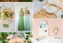Ideas de Cores para Casamento | Wedding Color Ideas / + inspirações para seu casamento: www.noivasdobrasil.com.br