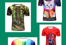 T-Shirts for Men / Varied selection of t-shirts for men and boys.