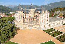 Ma ville à VIZILLE (FRANCE) / Château de Vizille