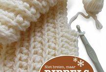 Crochet steken