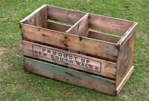 Beautiful Wedding Barrels and Crates / http://thebeautifulday.co.uk