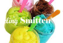 Bath & Beauty, Soaps, Bath Salts & Scrubs, Gelato, ice cream, mai tai, sugar, sugar scrub, mango, coconut, pink, dessert, summer, exfoliate, happy, bright