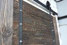 Амбарные двери. Двери лофт.
