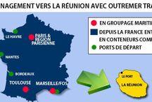 Déménagement Réunion / Déménagement et transport de véhicules depuis la France vers la Réunion