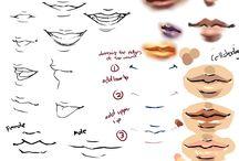 Referencias de dibujo: Cara