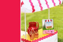 Lemonade Stand / by Cathy C - 505 Design+Paperie