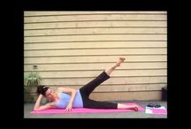 Pilates: Glutes & Thighs: LauraGYOGA / Pilates exercises and routines to focus on the Glutes & thighs