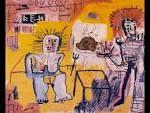 BASQUIAT / Jean-Michel Basquiat - pioneiro na Arte de Rua - grafiteiro de primeira linha, ganhou fama com o apoio de Andy Warhol, mas morreu aos 27 anos (idade fatídica!) de overdose, em 1988.