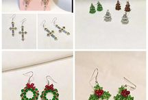Beaded ornaments.