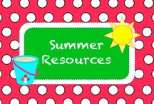 S U M M E R • R E S O U R C E S / Summer Resources / by TeachersPayTeachers