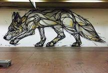 Dzia Krank Street art