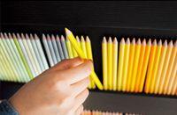Display / 500色の色えんぴつの使い方 飾り方