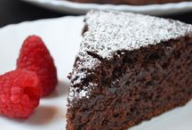 eggless chock cake/ bake