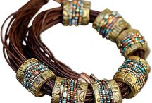 Tribal Jewelry / A collection of tribal looking jewelry. / by Berenice McKinnis