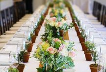 WEDDING STYLING / Be inspired be all the various styles of previous Bells weddings