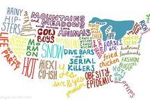 Geography / by Jennifer Garner