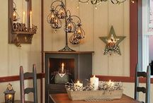 Home and Cabin Decor / Home and cabin decorating ideas.