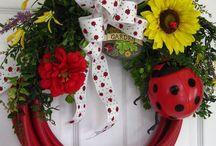wreaths for gardens