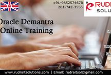 Oracle Demantra Online Training / Rudra IT Solutions is one of the Promote leading IT Services and Oracle Demantra  corporate training solutions along with IT Online training conservatory, with latest Industry offering technology in Hyderabad, Pune, Chennai, Mumbai, banglore,India, USA, UK, Australia, New Zealand, UAE, Saudi Arabia,Pakistan, Singapore, Kuwait.   About Course Details:  http://www.rudraitsolutions.com/oracle-apps-r12/oracle-demantra.php