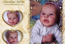 PILAR - ADRIE STOETE - LE: Dolls as Live - Made with Love - Sunshine Babies - Reborn Dolls / ELIZABETH: PILAR - ADRIE STOETE - LE: Dolls as Live - Made with Love - Sunshine Babies - Reborn Dolls