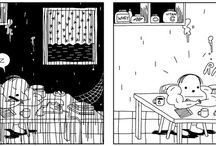 Murmullos / Una colección de relatos gráficos que se acaban antes de recuperar el aliento.