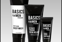 Basics For Men / Basics for Men offers two new items for men: Ultimate Tough Skin Relief and Deep Clean Body Wash.  MSRP $4.95-$12.95. American made, superior quality. Available just in time for Christmas at 1-888-49-HANDS