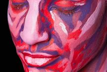 Body Painting Inspiration / Body Painting Inspiration - Images from various make-up artists