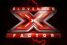 X FACTOR SLOVENSKO / Najväčšia spevácka show na obrazovkách TV JOJ  www.xfactor.sk