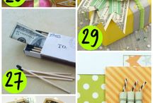 leis/cake  and money gift ideas