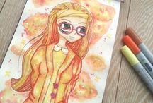 My Drawings, Fan Art and More / Here you find mostly Fan art that I made in my spare time :D.