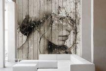 Deco wall