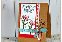 Birthday Blooms Card Ideas / by Laurie Graham: Avon Rep