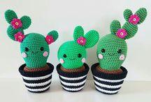 Crochet plants&flowers&nature