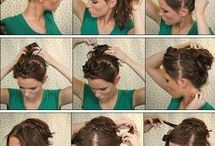 Easy hairstyles!!!!!!