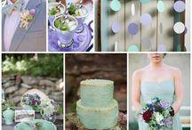 Wedding Colours ~Essences~ / The colour inspiration found on Marry Me Ink's Essences posts