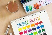 Farger og maling
