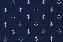 Fabric choices: navy and gray / by Em Komiskey