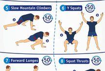 Exercises / Body weight training