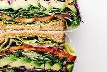 sandwich con verduras