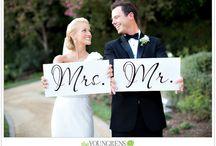 Wedding props / Ideer til små ting til bryllupet..