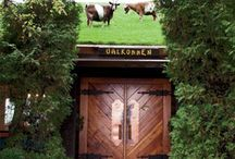 Al Johnson's Swedish Restaurant and Butik / Al Johnson's is a Swedish restaurant located in Sister Bay in beautiful Door County, WI.  Yes...the place with the goats on the roof!  Stop by to say hi to our goats, try our authentic Swedish food and shop our Swedish Butik!
