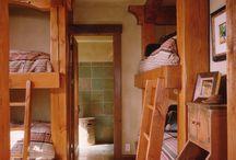 kids bedrooms / by Teresa Schumacher