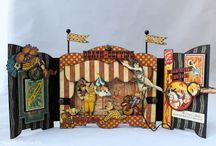 Circus Ephemera, etc. / Hodgepodge images of everything circus or carnival related. You could not pay me to ride a Ferris Wheel or roller coaster, but I'm not scared of clowns! / by Laurie