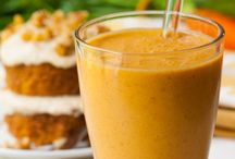 healthy smoothies with carrot