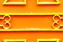 Oranges color