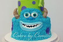 Monsters inc / Theme cake