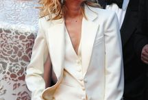 Famous women wearing suits