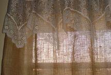 шторы из льна